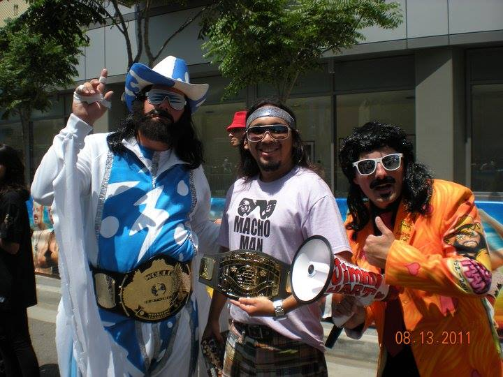 16 halloween costume ideas for the wrestling fan by the wrestling the macho man and the mouth of the south this team looks like they get loud solutioingenieria