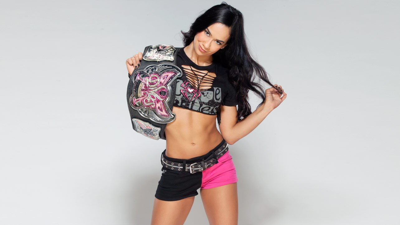 Reigning Wwe Divas Champion Aj Lee Is Reportedly In Hot Water With Wwe Management After Causing A Scene At Last Wednesdays Tribute To The Troops Event In