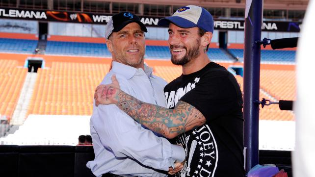 Shawn michaels and steve austin comment on hbks segment with cm punk on mondays wwe raw wwe hall of famer shawn michaels made a surprise appearance to the show hbk interrupted cm punk while he was addressing triple h and m4hsunfo