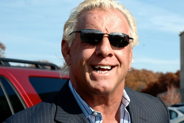 What is the mysterious 'tough' medical issue facing wrestler Ric Flair?