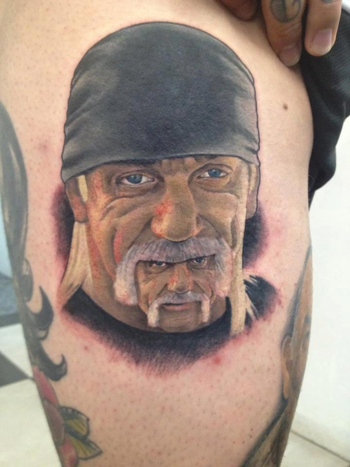 photo gallery of wrestling related fan tattoos