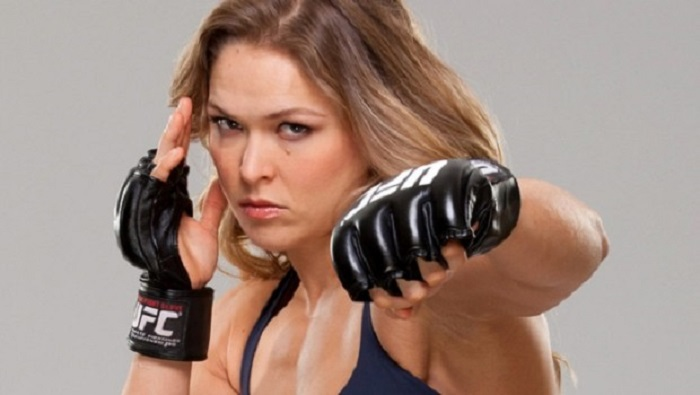 Ronda Rousey 'training for move to WWE'