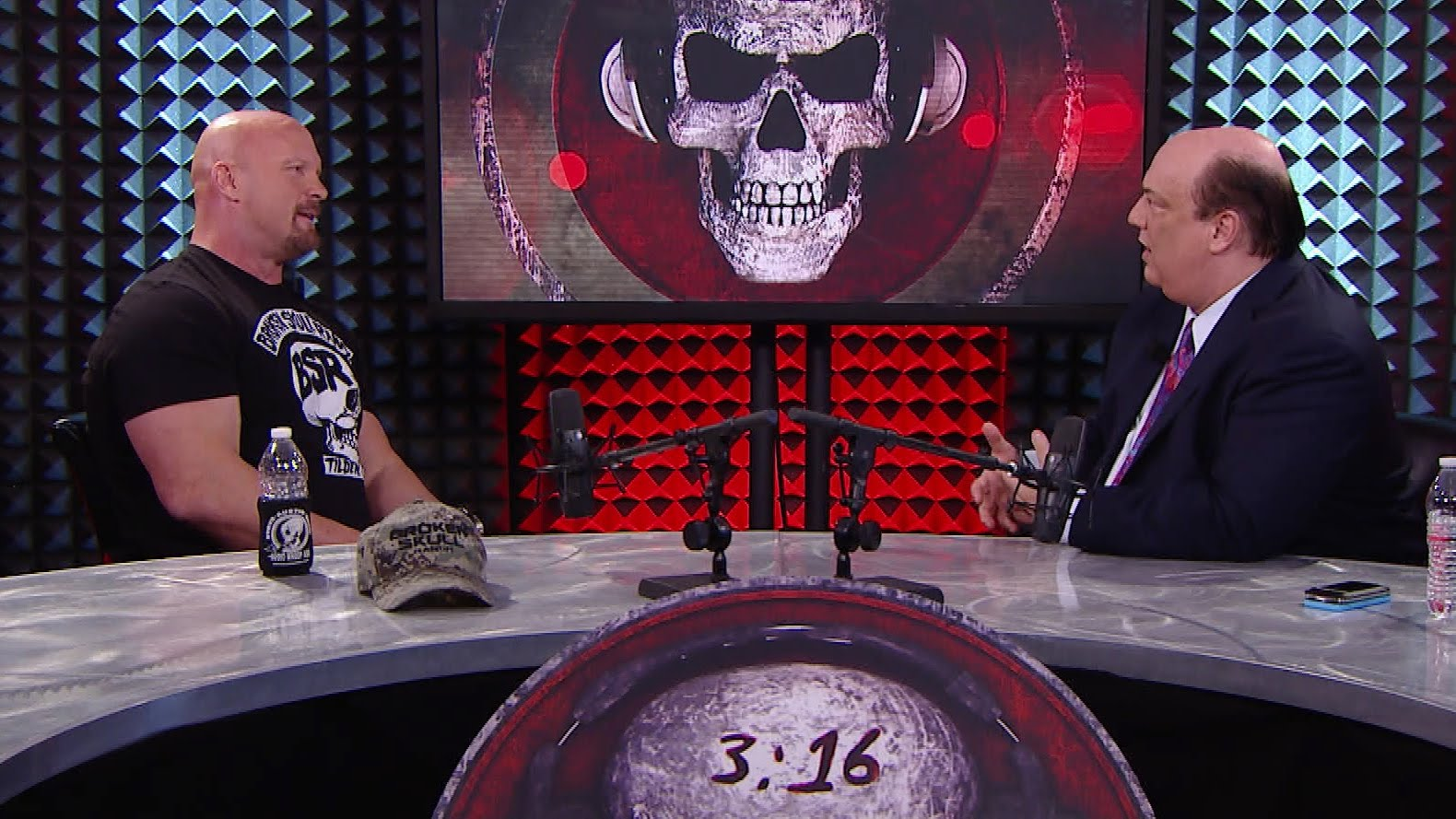 steve austin gives an epic explanation on why he uses