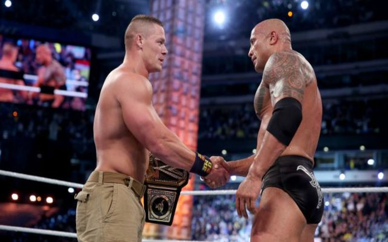 John Cena Finally Revealed What He Said To The Rock After Their Match At WrestleMania 29