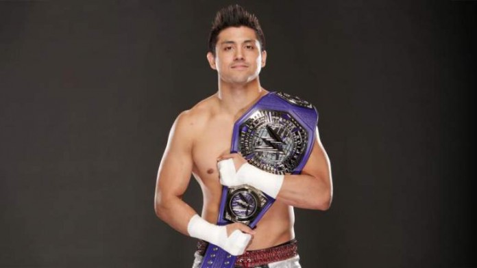 TJ Perkins Retains The WWE Cruiserweight Title At Clash Of