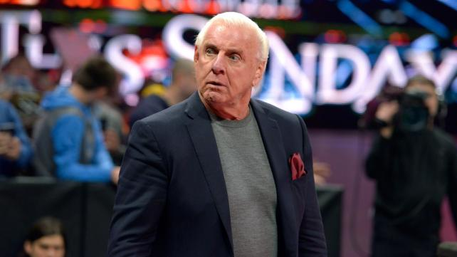 Ric Flair Hospitalized … Manager Claims It's Due to 'Routine Monitoring'