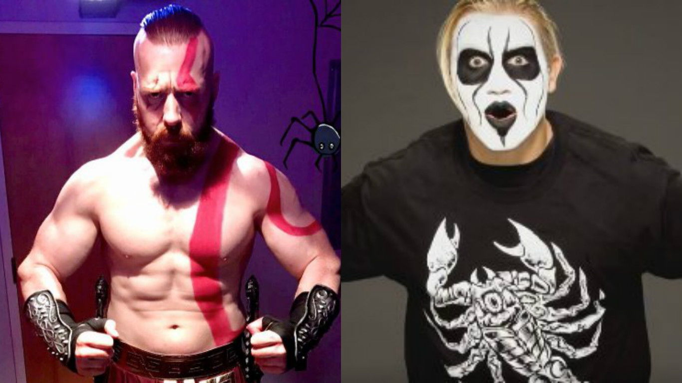 its halloween weekend and superstars of the wwe are looking to get out of their ring gear and into some cool costumes sheamus is set to team with cesaro