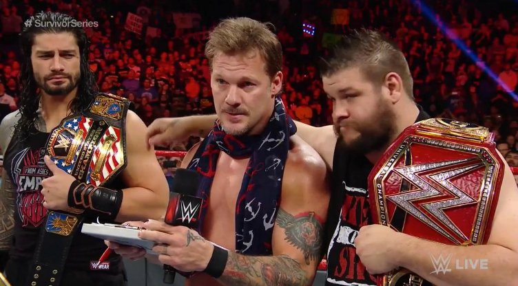 Aj Styles And James Ellsworth Added To The List Of Jericho Team