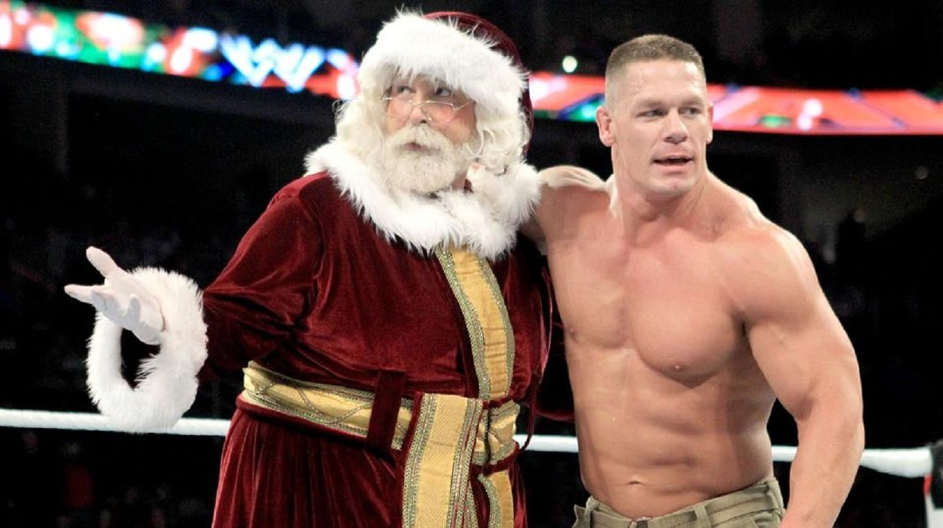 John Cena Wore The Best Ugly Christmas Sweater This Year ...