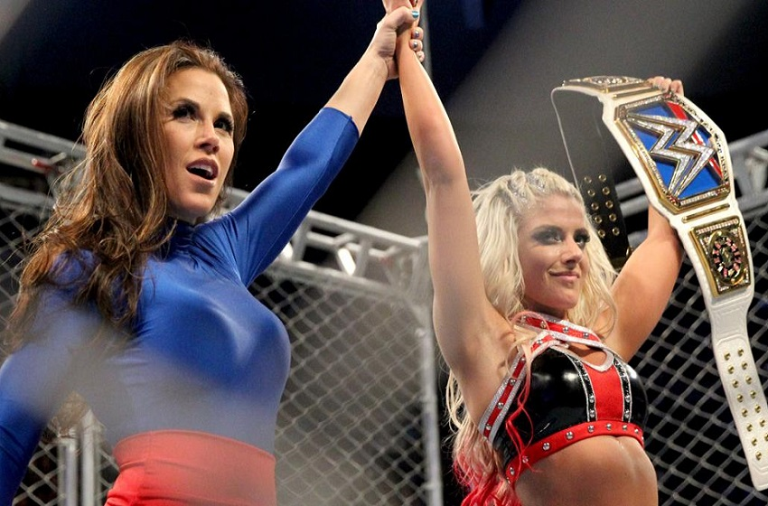 Can Mickie james nice looking consider