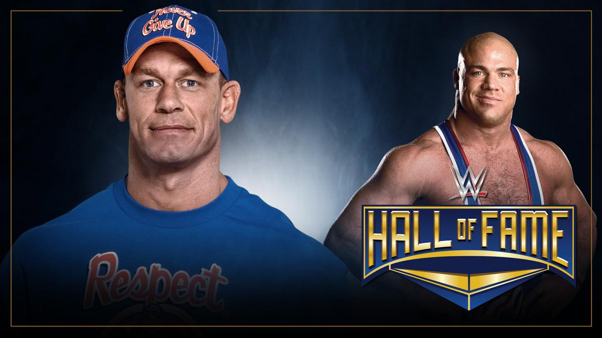 WWE Reveals Who Will Induct Kurt Angle Into The Hall Of Fame