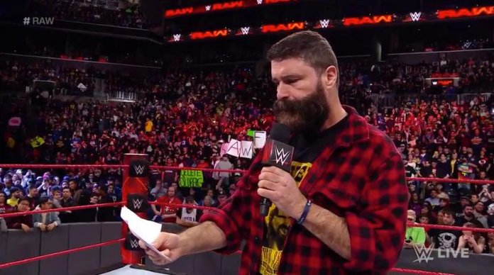 Mick Foley fired as General Manager of Monday Night Raw