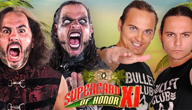 The Hardy Boyz enjoy Wrestlemania return! Matt and Jeff Hardy are back