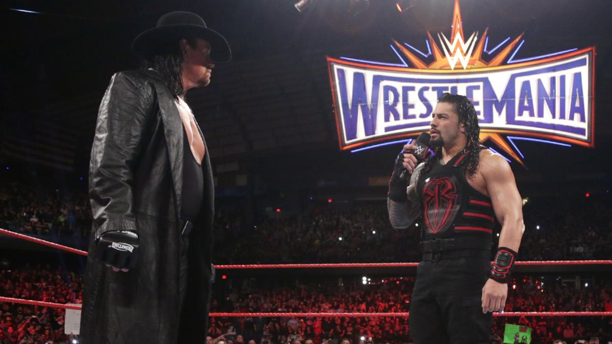 Possible Options For The Undertaker Vs. Roman Reigns