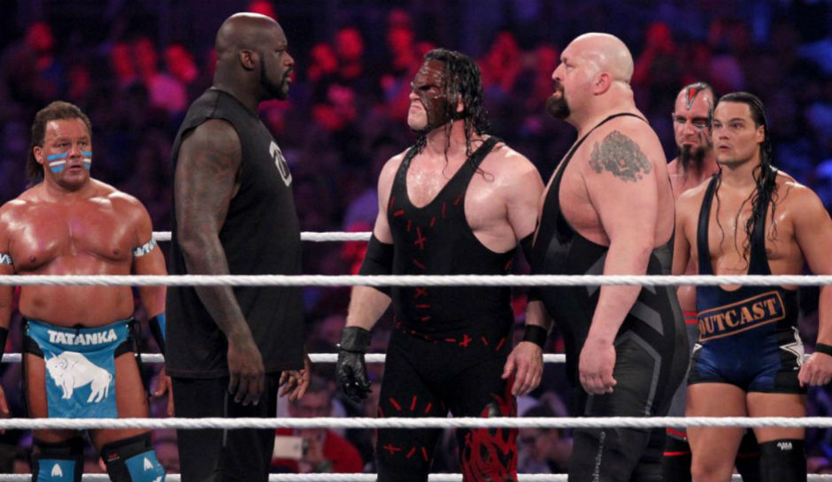Big Show Vs Shaq Was One Of The Matches That Believed To Be Set For WrestleMania 33 But Match Is Currently Up In Air And Event
