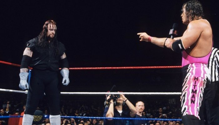 Bret Hart talks about The Undertaker's role in the Montreal Screwjob aftermath