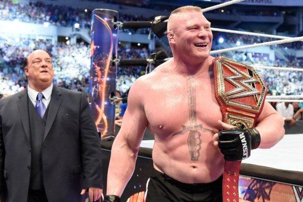 Brock Lesnar Pay Per View Title Defense Announced