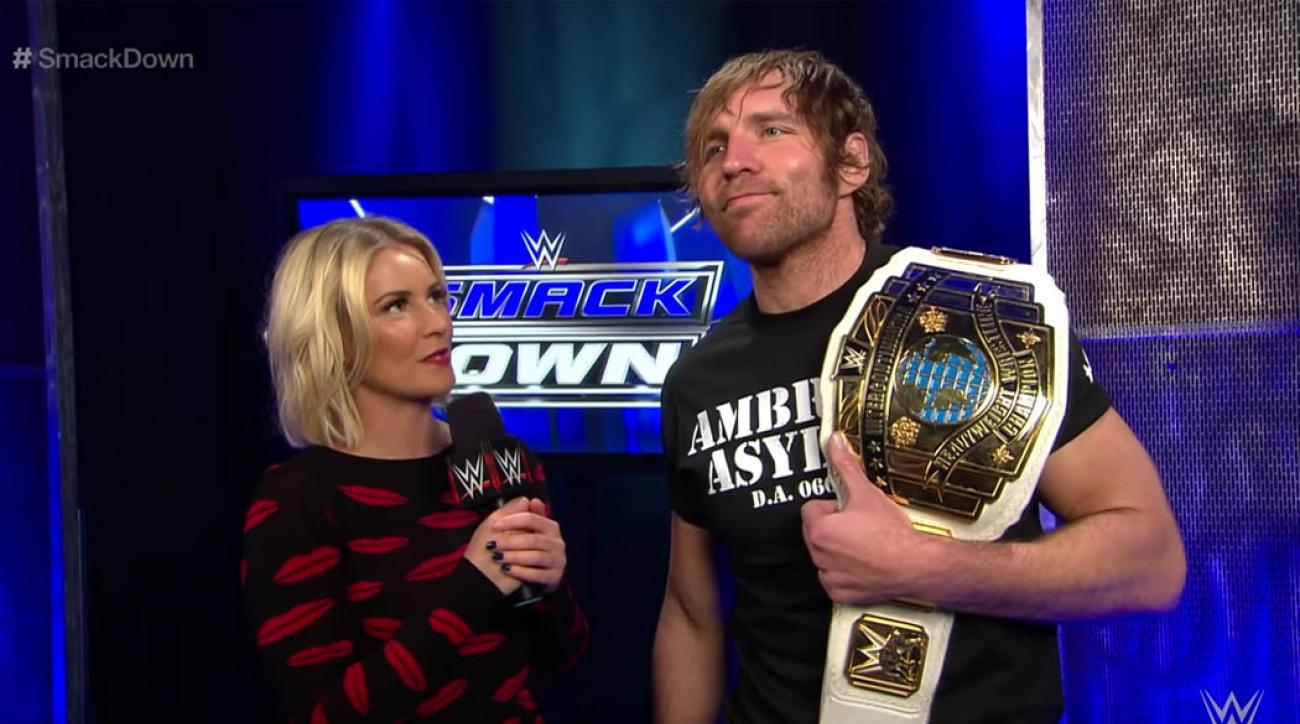 Renee young reveals new details about her secret wedding to dean ambrose m4hsunfo
