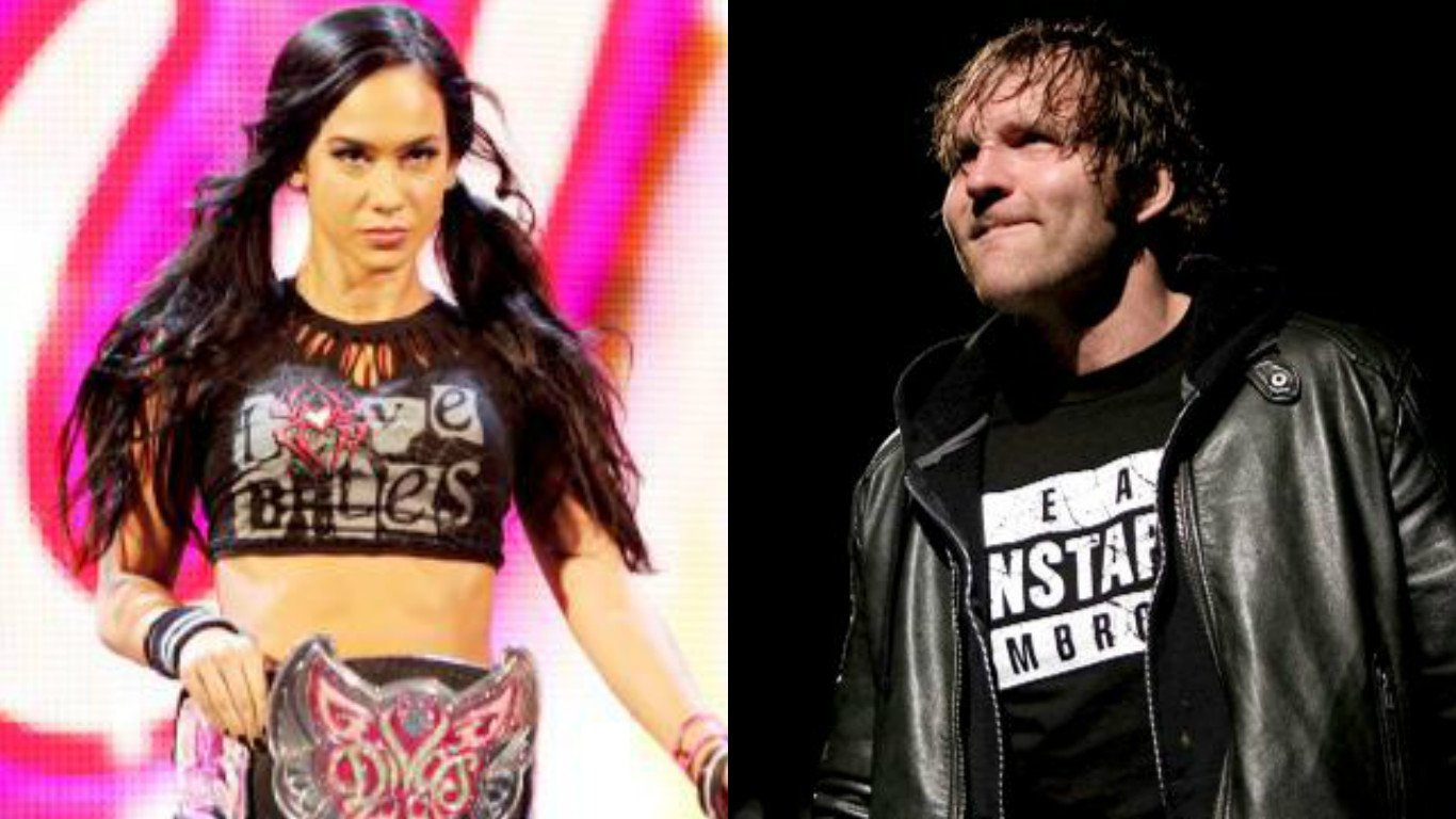 Former WWE Writer Pitched An Idea For AJ Lee And Dean Ambrose To