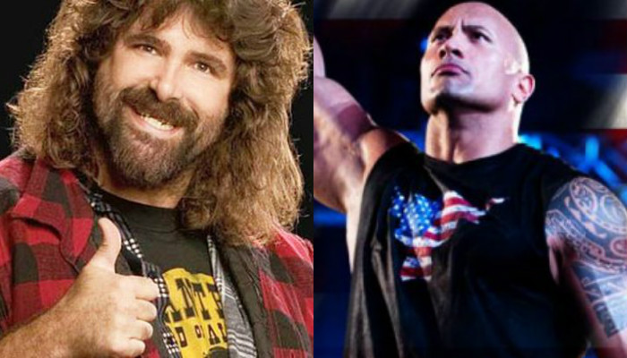 WWE veteran Mick Foley endorses The Rock for president