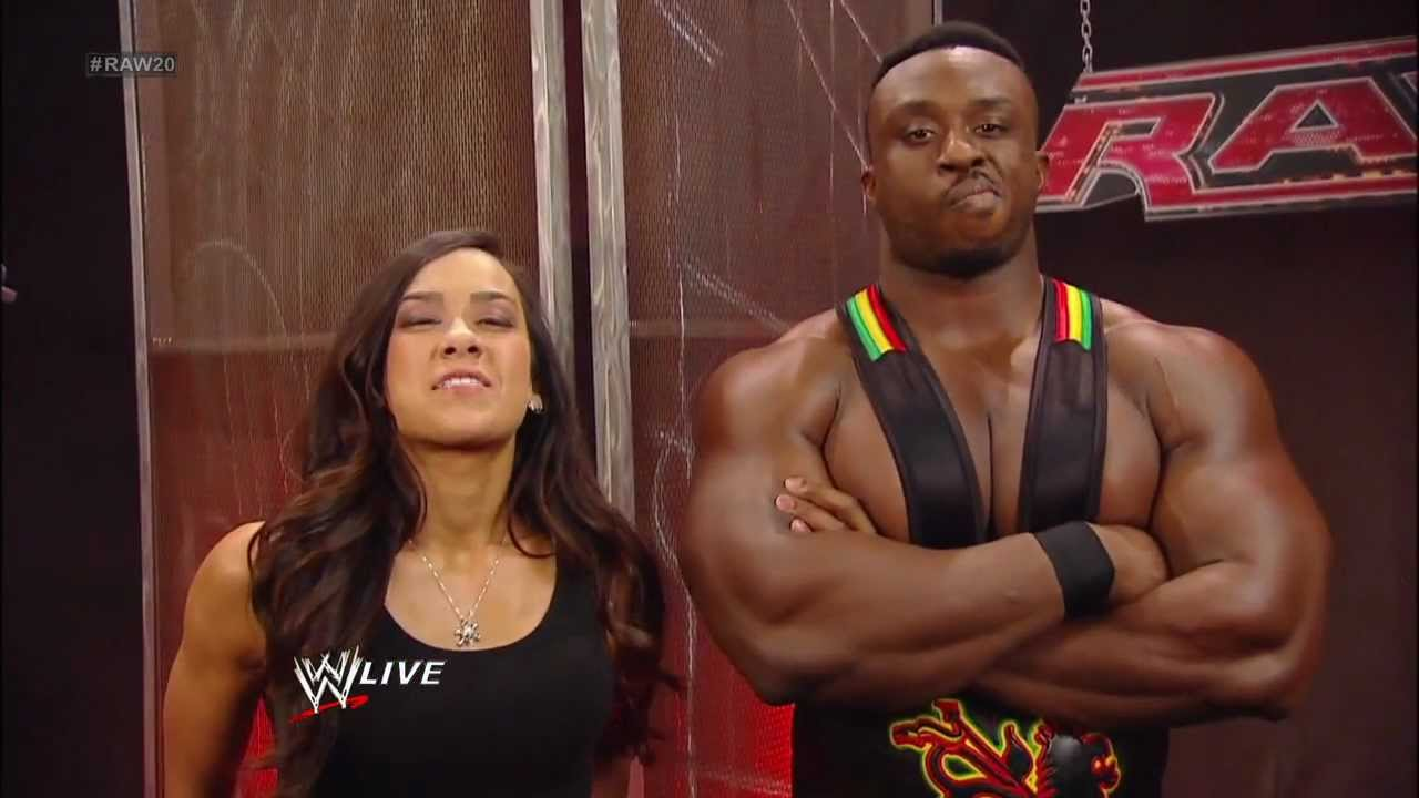 Aj Lee Comments On Big E Accidentally Punching Her In The Chest