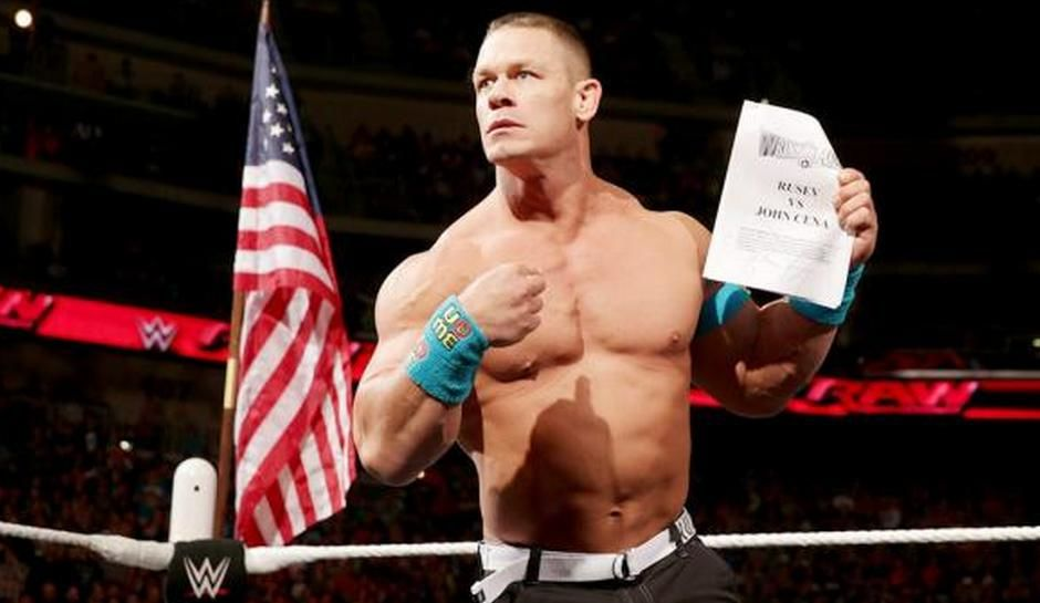 john cena being advertised for smackdown ppv and raw live. Black Bedroom Furniture Sets. Home Design Ideas