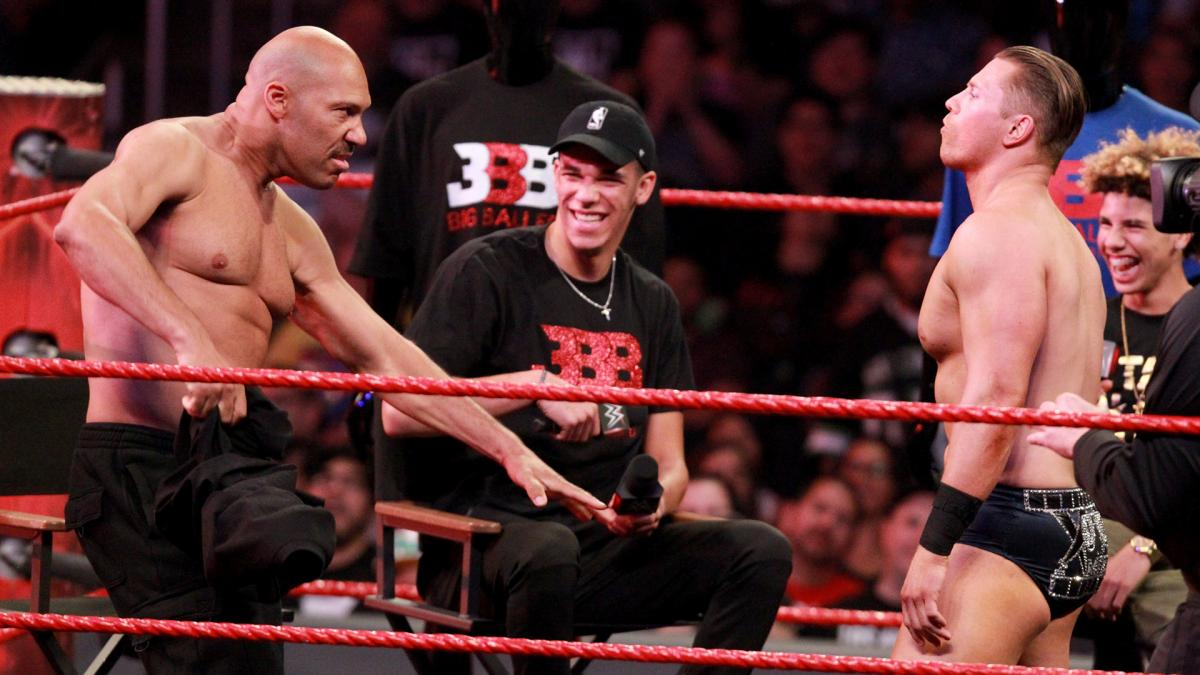 WWE Issues Statement In Response To LaMelo Ball Using ...