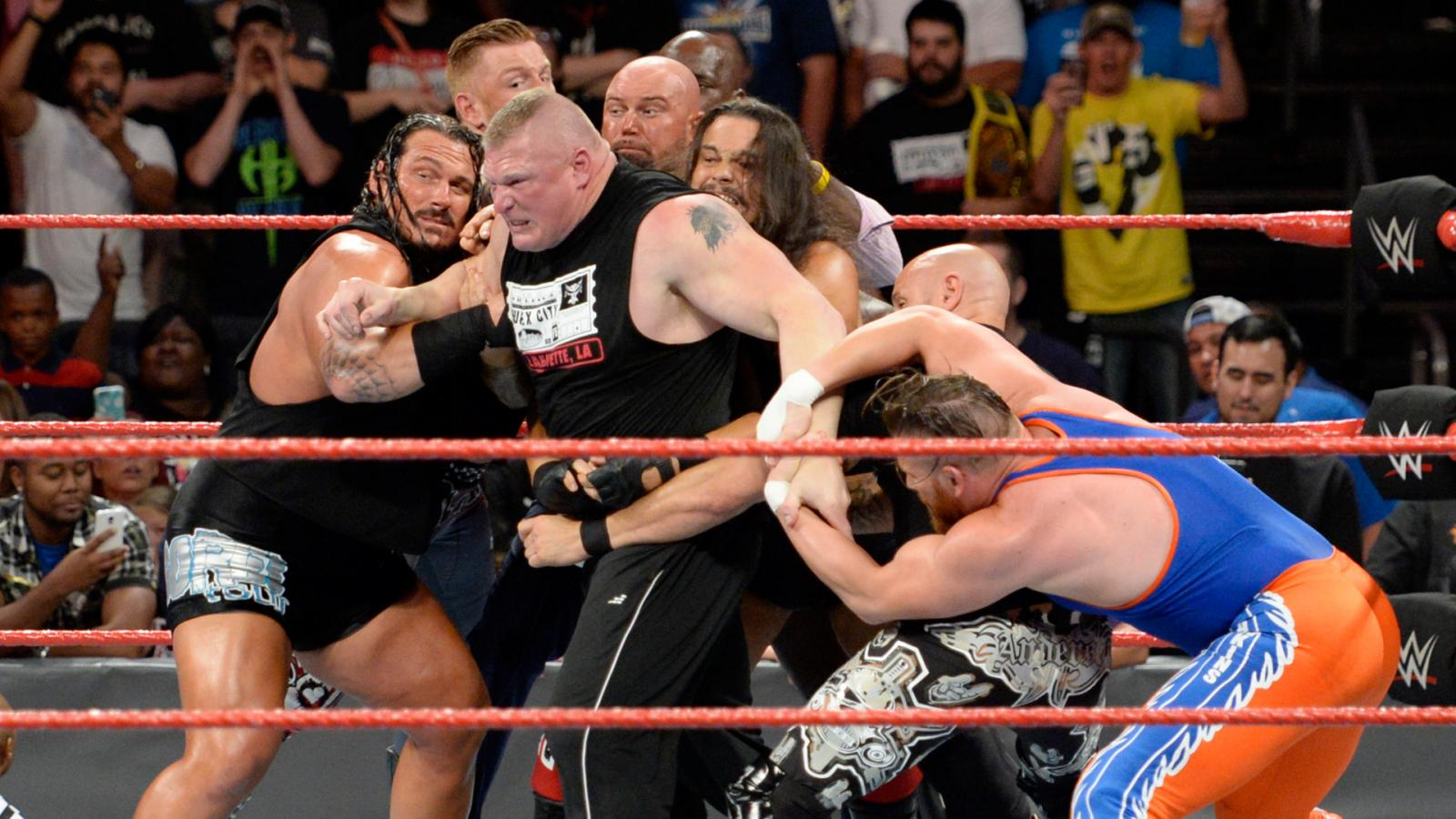 Last Week Samoa Joe Won A Fatal 5 Way Match At Extreme Rules And Now Hes Set To Challenge Brock Lesnar For The Universal Championship Great Balls Of