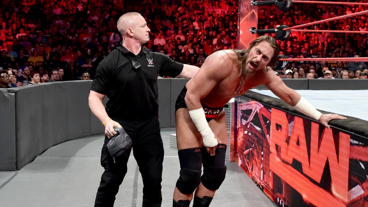Big Cass Injured During Street Fight On WWE Raw