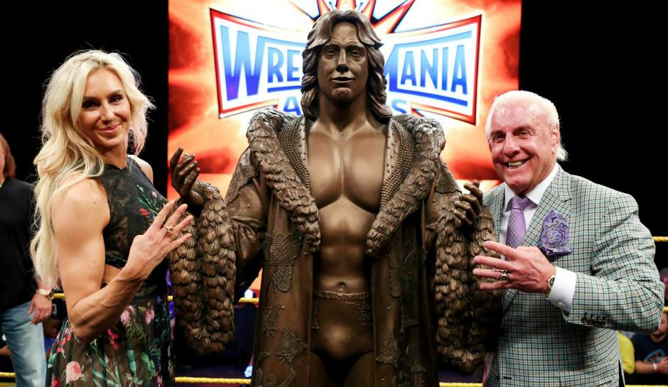 Ric Flair's Fiancée Provides Update on His Status