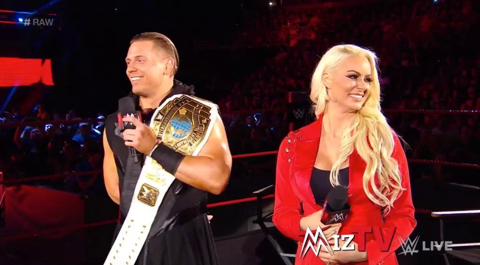 The Miz and Maryse Announce Pregnancy on RAW