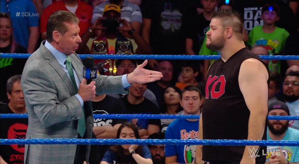Hulk Hogan Reacts To Kevin Owens Attacking Vince McMahon
