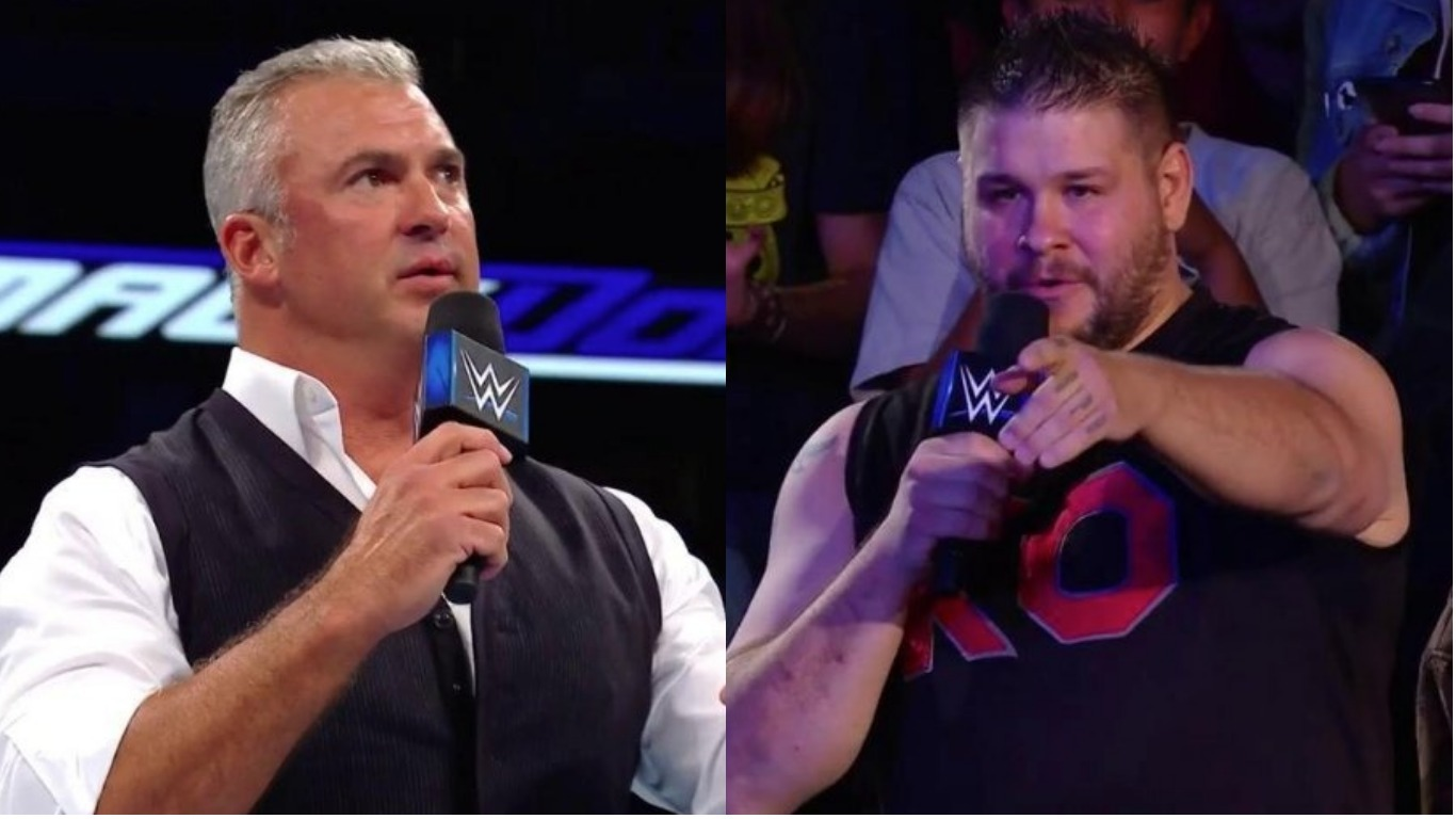 Kevin Owens unleashes attack on Shane McMahon