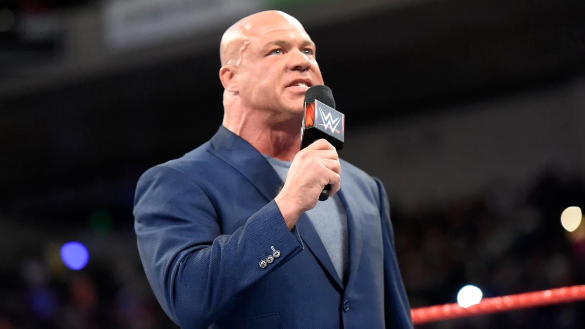 Kurt Angle On Which Raw Star He Sees Getting A Title Run Soon