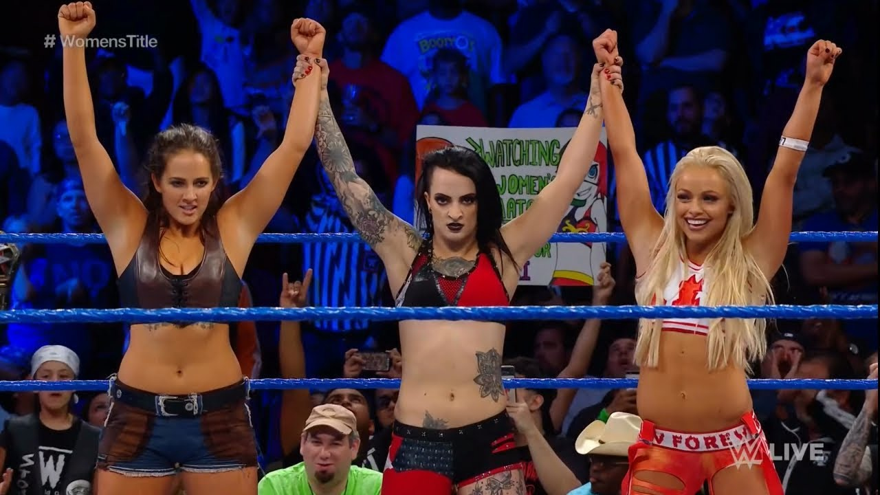 WWE adds Ruby Riot, Liv Morgan, and Sarah Logan match to Smackdown