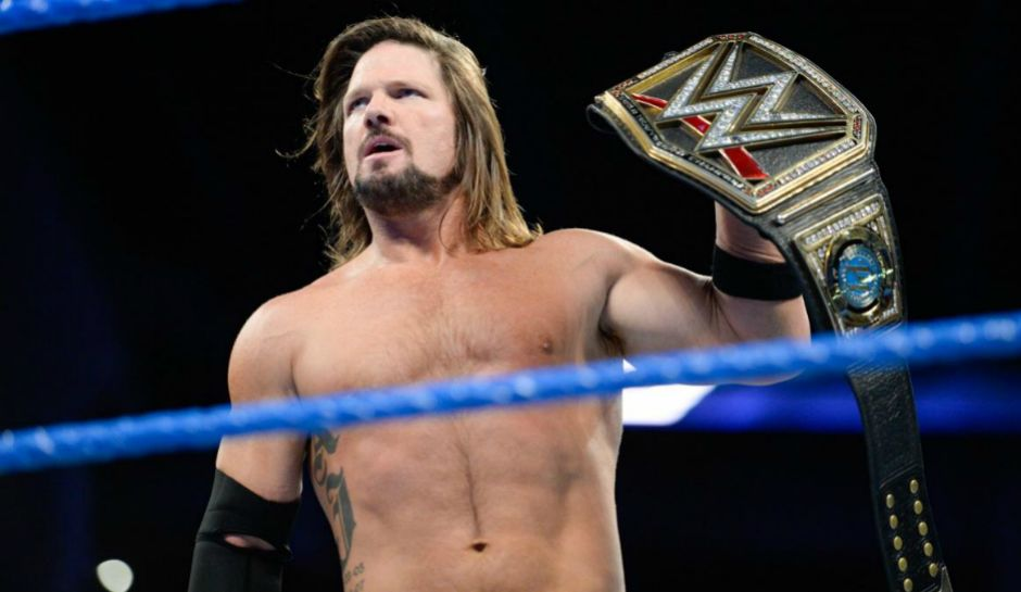 Image result for aj styles intercontinental champion