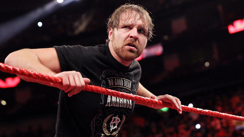 Update on Dean Ambrose's arm injury from WWE Raw