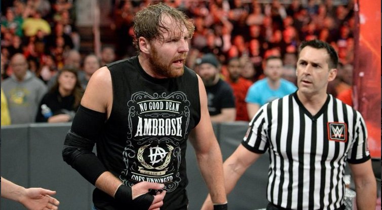 Dean Ambrose Dealing With Elbow Injury