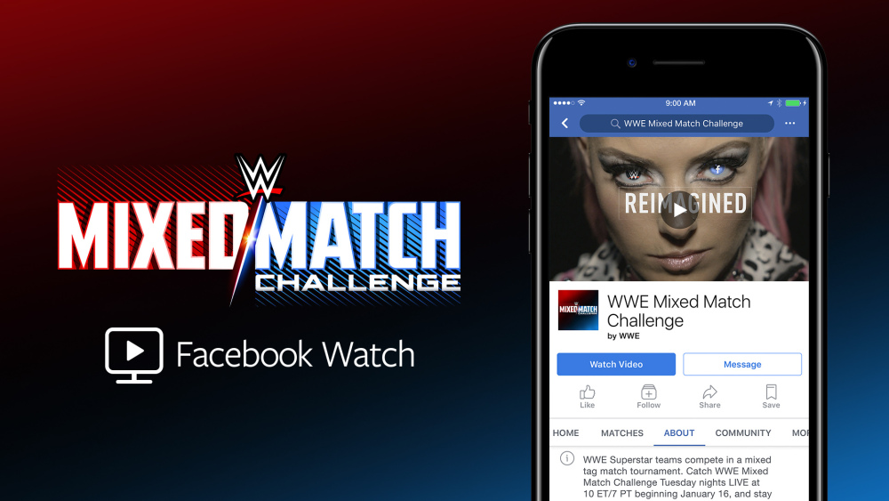 WWE's new show is exclusive to Facebook Watch