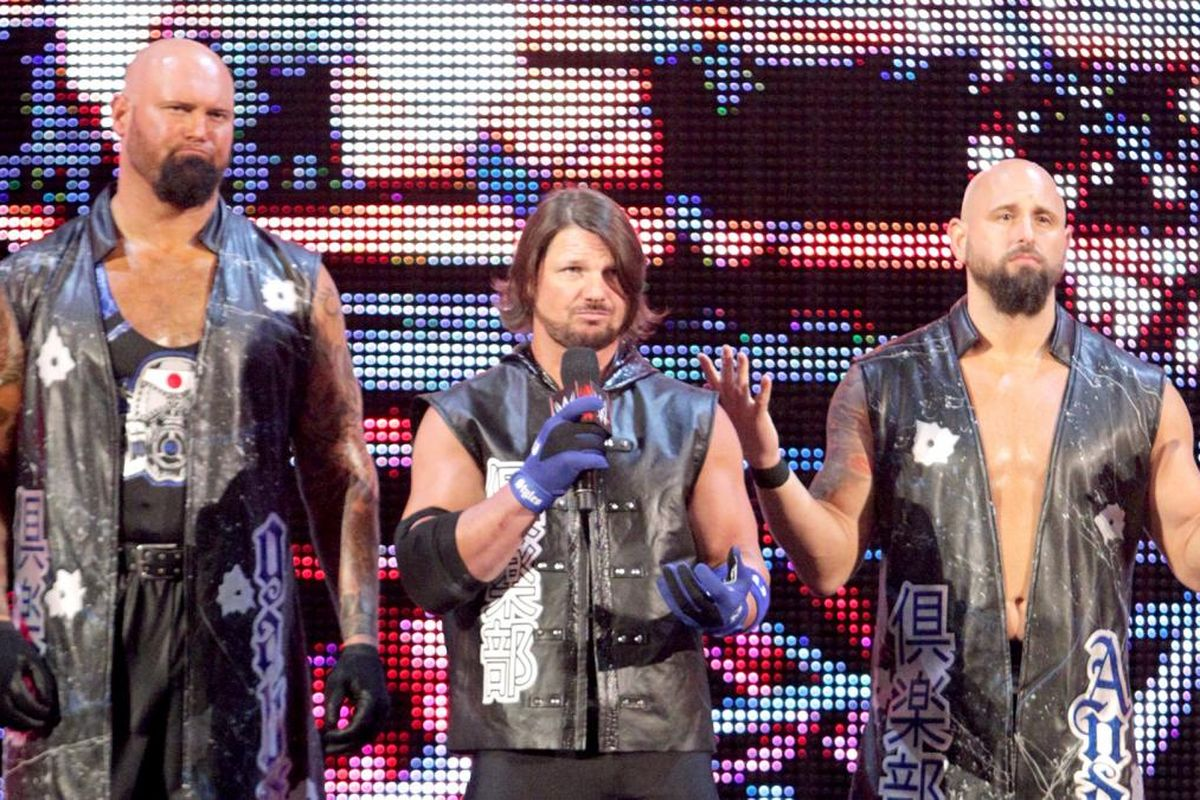 Image result for aj styles club