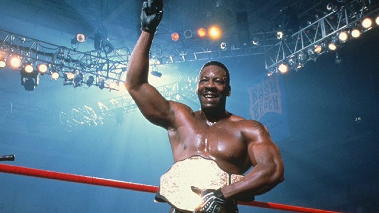 Booker T On Who Pushed For Him To Become WCW World Champion