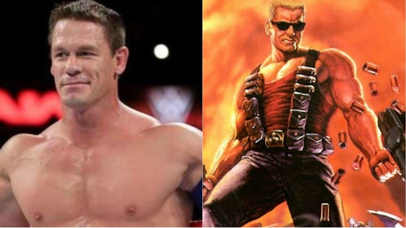 john cena reportedly in talks to star in duke nukem film. Black Bedroom Furniture Sets. Home Design Ideas