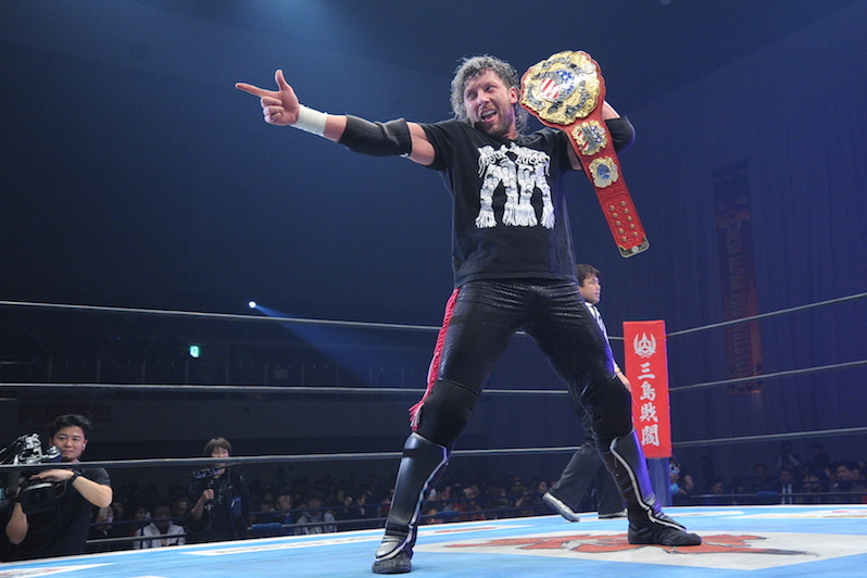 Kenny Omega signs deal with New Japan Pro Wrestling
