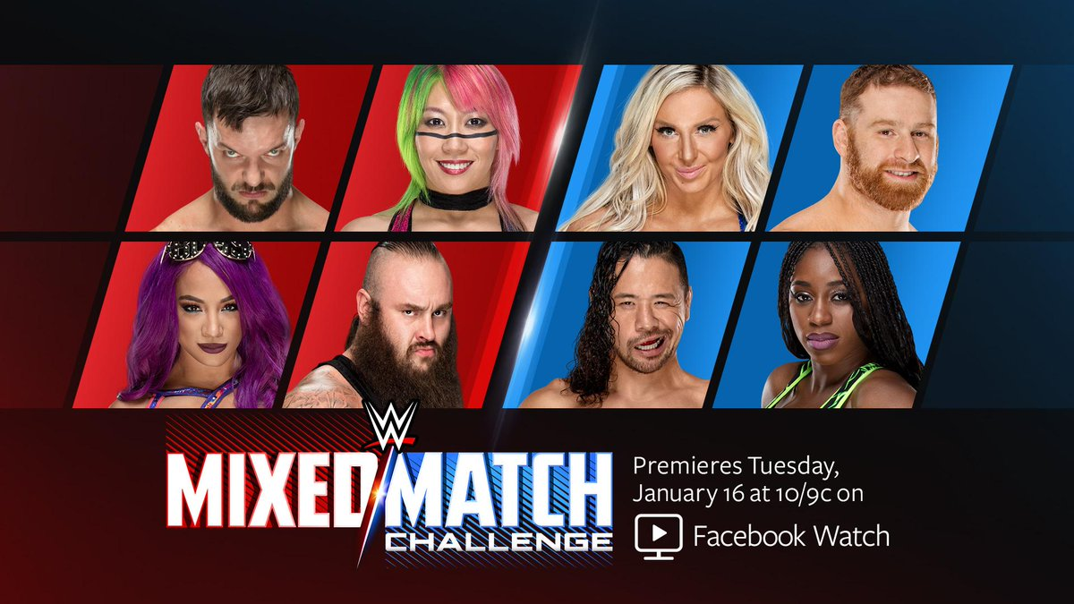 First Smackdown Live Team Announced for WWE Mixed Match Challenge
