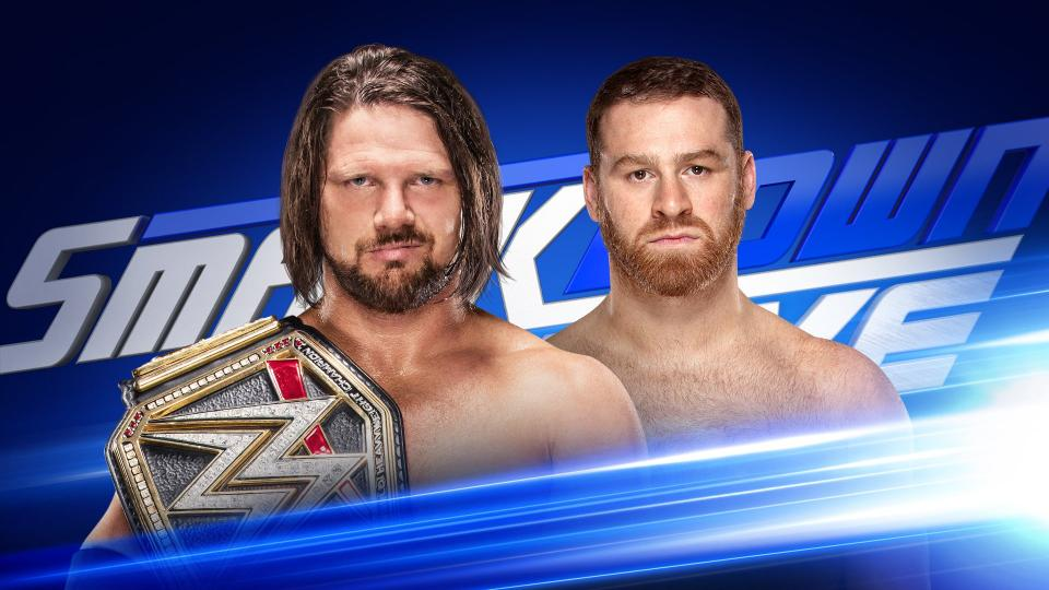 WWE Smackdown Live Results 1/2/18