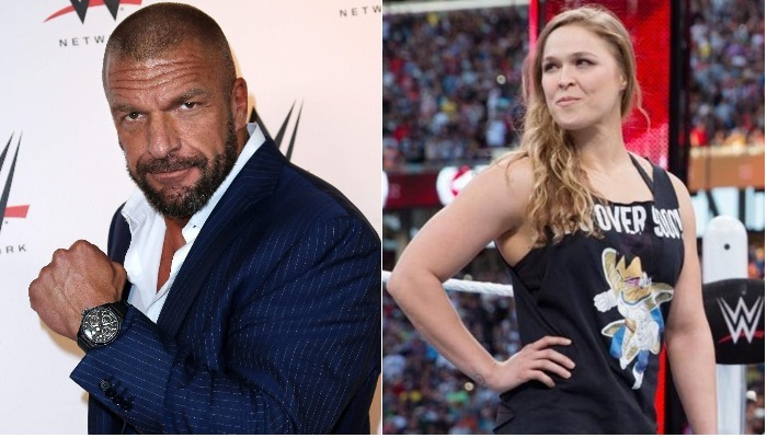 Triple H Talks About Ronda Rousey's Future; 2018 Hall Of Fame Class