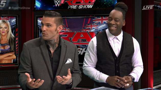 Booker T Wants to Fight Corey Graves Over RAW Announce Team Change
