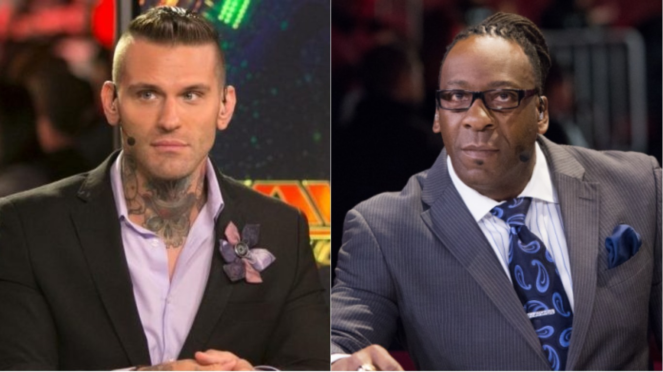 Booker T Challenges Corey Graves To Fight Over RAW Change