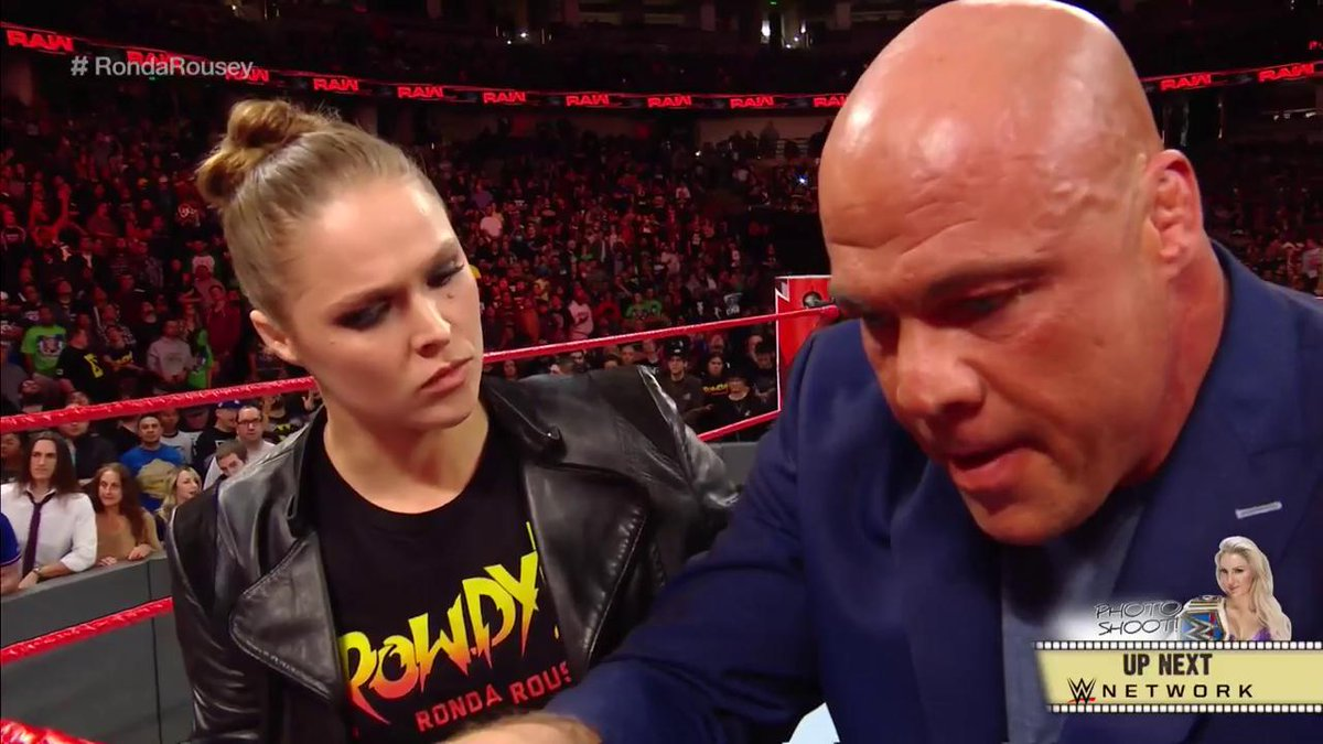 Ronda Rousey makes her WWE 'Monday Night RAW' debut