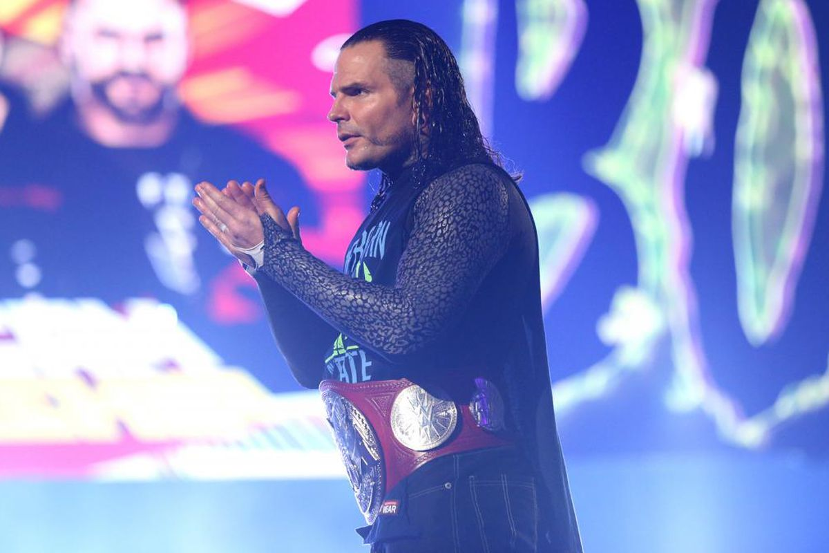 WWE wrestler Jeff Hardy booked on DWI charge in NC